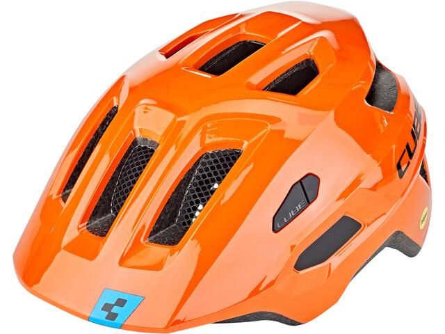 Cube Linok X Actionteam Casco, orange